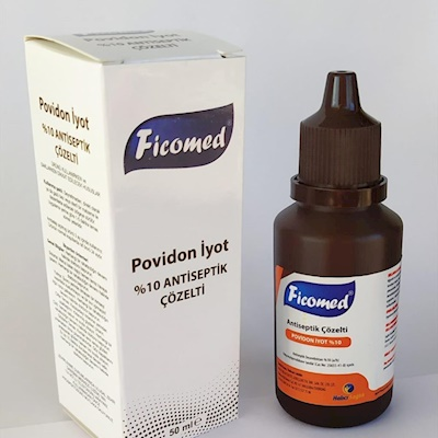 FİCOMED povidon iyodin  %10 50 ml ve 100 ml